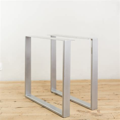 metal table legs powder coated steel u shape table legs factor fabrication