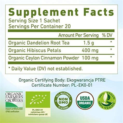 Dandelion Root Tea Detox Reviews by Dandelion Root Tea Organic Vitamin Rich Digestive