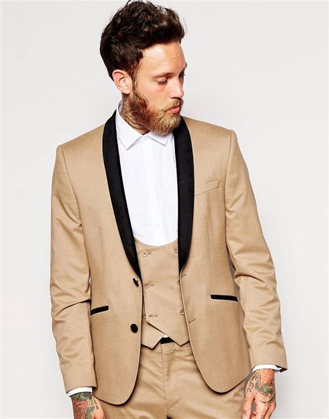 Jas Breasted Custom Tailor Coklat high quality mens suits promotion shop for high quality promotional mens suits on
