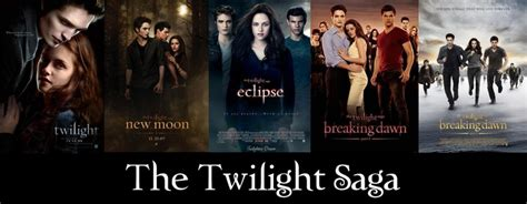 Twilight Saga 1 Twilight Novel Terjemahan the twilight saga all 5 posters twilight breaking the o jays and