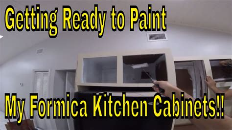 Ready To Paint Kitchen Cabinets by Getting Ready To Paint My Formica Kitchen Cabinets Remove