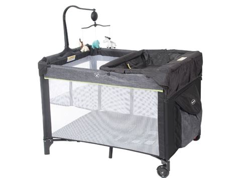 Changing Table Portable 4 In 1 Denim Portable Cot Portable Cots Britax Au