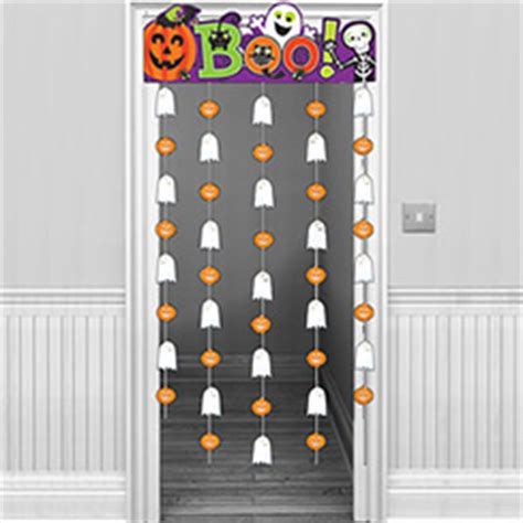 halloween door curtain halloween window door decorations party delights