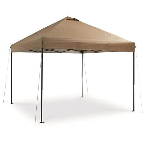 10 x 10 leg canopy guide gear deluxe leg canopy 10 x 10 676350