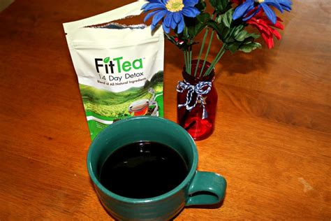 Fit Tea Detox Coupon by Fittea 14 Day Detox Review All Boosts Energy