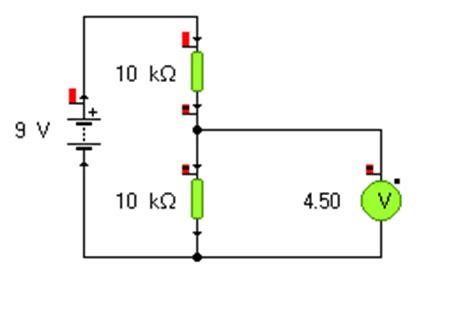 voltage divider integrated circuit potential divider circuits ii activity