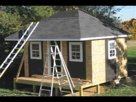 How To Build A Hip Roof Shed by Custom Made Shed Or Playhose With Columns And Hip Roof