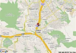 walnut california map map of marriott walnut creek walnut creek