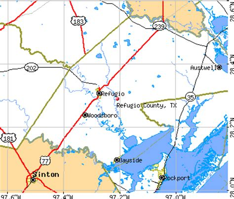 refugio texas map refugio county texas detailed profile houses real estate cost of living wages work