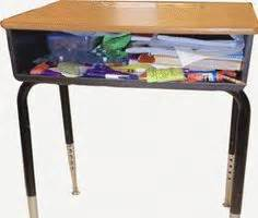 School Desk Organizers School Desk Organization On