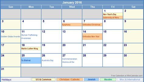 Christiana School District Calendar Muslim Holidays Calendar Template 2016