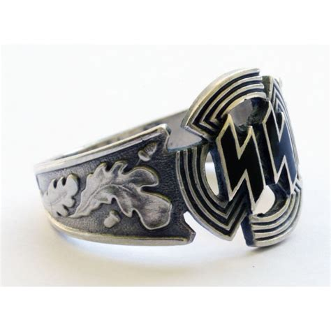 german for wwii german silver waffen units rings for sale