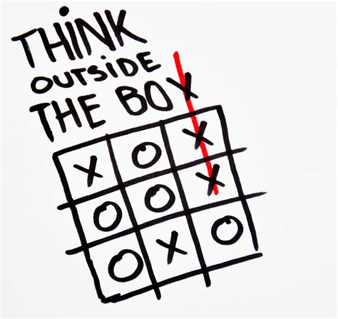 Think Out The Box how thinking outside of the box can make you unpopular in