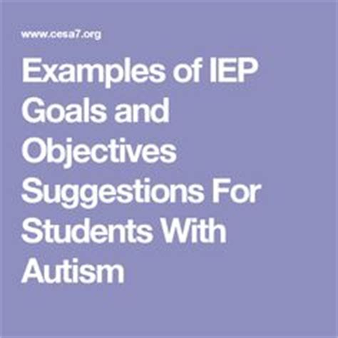 800 Measurable Iep Goals Objectives by 1000 Ideas About Goals And Objectives On