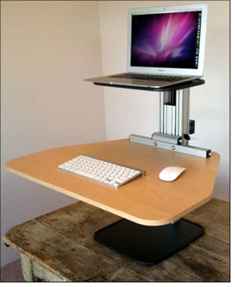 Stand Up Desk Conversion Convert Desk To Stand Up