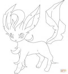 pokemon coloring pages of leafeon coloriage pok 233 mon phyllali coloriages 224 imprimer gratuits