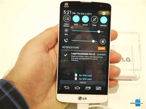 Lg Bello lg l fino and lg l bello on more than adequate