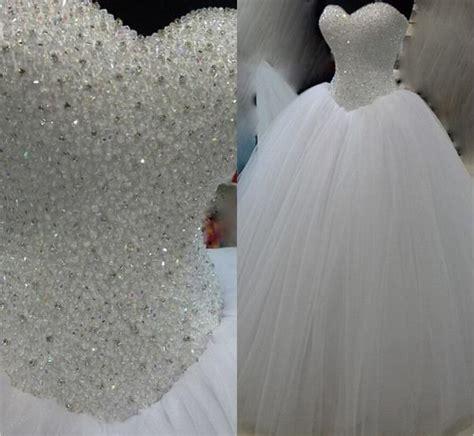 G Nstige Hochzeits Accessoires by G 252 Nstige Luxus Wei 223 Schwere Perlen Prinzessin