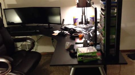 Apartment Gaming Setup Apartment Tour Gaming Office Setup