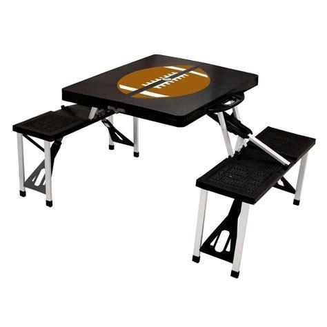 Patio Picnic Table Leisure Season Portable Patio Folding Picnic Table Pft12 The Home Depot