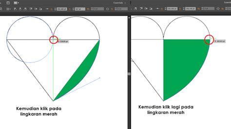 tutorial logo dengan adobe illustrator cara membuat logo hati dengan adobe illustrator masiptek