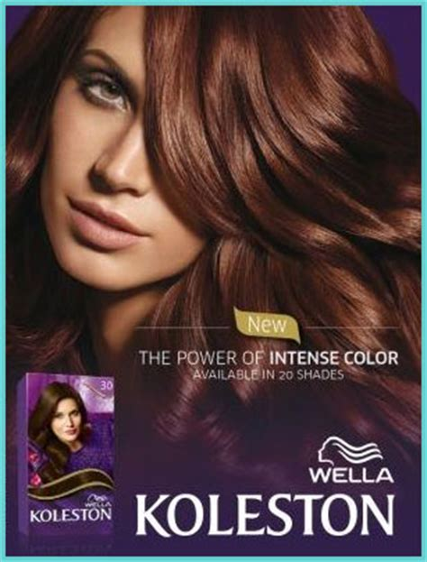 koleston hair color pin new wella products on
