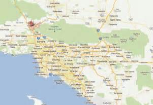 santa clarita california map