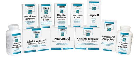 Harmony Formulas Colon Cleanse And Detox by Harmony Formulas Health Supplements At Prohealth Solutions