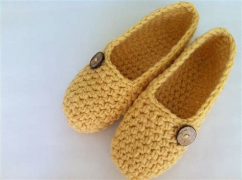 crochet s slippers thick simply slippers crochet slippers