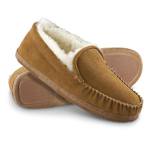 slipper boots mens s staheekum 174 moc slippers wheat 143576 slippers at