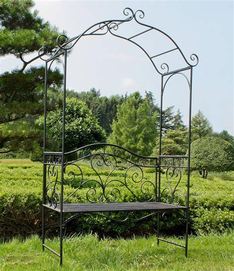 Hängestuhl Garten by Bank Mit Rosenbogen Top Qualit 228 T Kaufen Baldur Garten