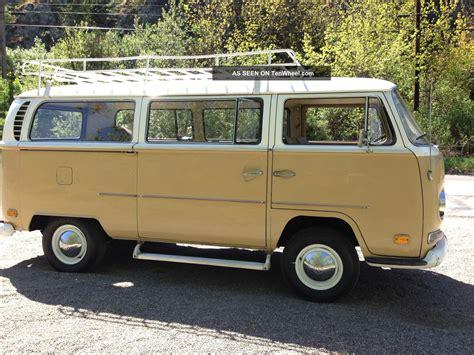 1970 volkswagen vanagon 1970 vw deluxe transporter