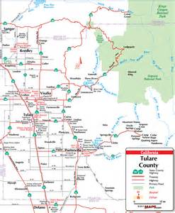 tulare county map picture to pin on pinsdaddy