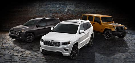 jeep cherokee altitude 2014 jeep cherokee grand cherokee and wrangler get