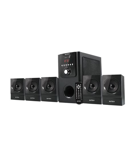 buy intex it 5250 suf 5 1 home theatre system at