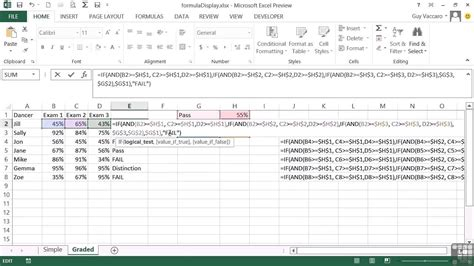 tutorial excel 2013 formulas advanced microsoft excel 2013 tutorial display cell