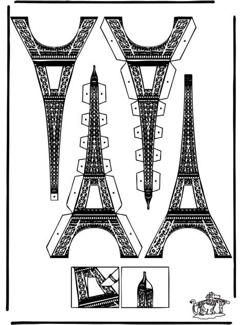 Eiffel Tower Papercraft - papercraft eifel tower cut out