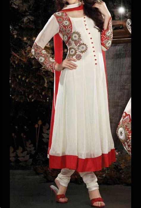 dress design in pakistan 2015 facebook latest stylish anarkali frocks with churidar 2014 2015 fashion