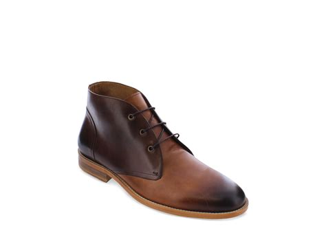 mens modern boots modern fiction chukka boots in brown for