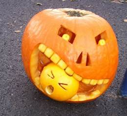 pumpkin faces spooky scary cute and funny ideas for