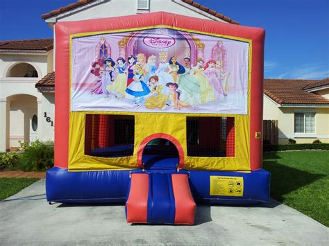 disney bounce house disney princesses bounce house choice party rental miami