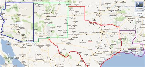 road map of new mexico and texas rob cook utah nevada california arizona new mexico texas louisiana and back to texas usa