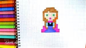 draw princess anna frozen