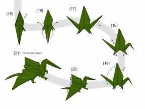Origami Dragonfly Step By Step - basteln mit kindern 100 origami diy projekte