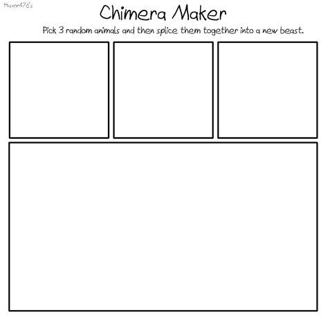 chimera maker blank meme by haxor478 on deviantart