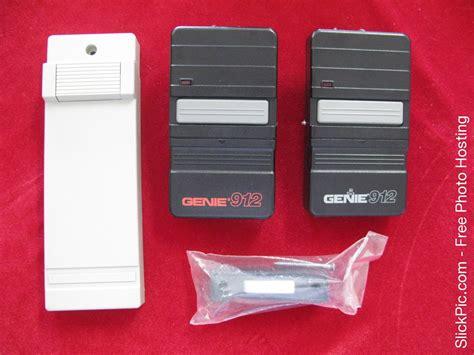 Genie 912 Garage Door Opener 2 Genie Model Gt 912 Remote Garage Door Opener S 9 12 Dip Switch 390mhz New Ebay