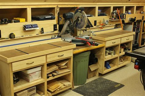 woodworking shop woodshop workshop 2nd floor of garage