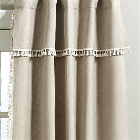 taupe curtain taupe geometric print gatehill curtain panels