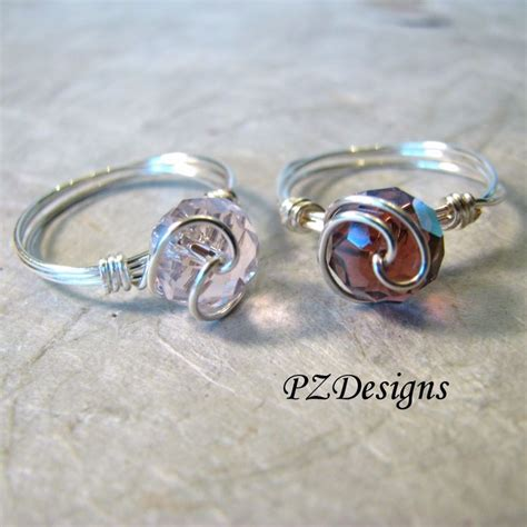 How To Make Handmade Rings With Wire - 83 best images about how it s made wire wrapped rings on