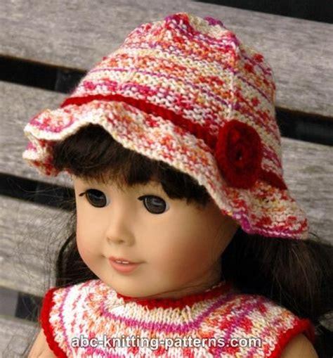 free knitting patterns for dolls hats knitting patterns galore american doll carolina